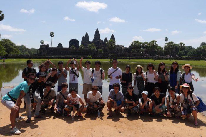 【そうだ!カンボジアを知ろう!VOL.1】アンコールワットで見たもの